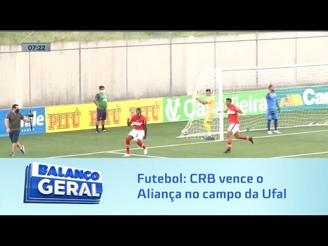 Futebol: CRB vence o Aliança no campo da Ufal