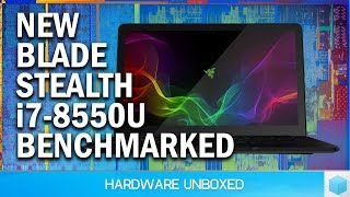 New i7-8550U Razer Blade Stealth Review, Can It Beat The Dell XPS 13?