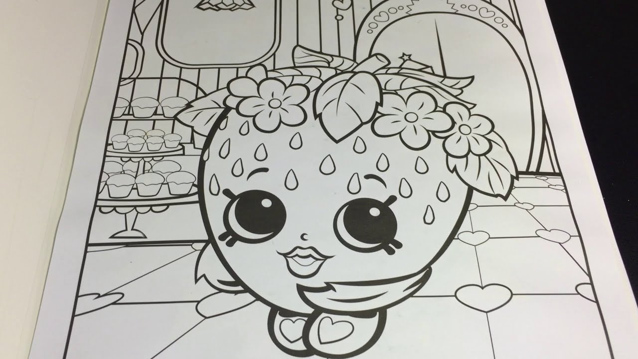 Coloring Time Episode 6 Shopkins