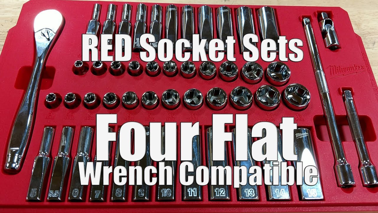"Milwaukee 48-22-9504 1//4/"" Drive 28pc Ratchet /& Socket Set-Métrique"