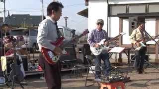 説明 ♫ パイプライン、ダイヤモンド・ヘッド ・2014.10.12 江刺ふるさと...