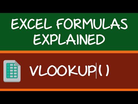 VLOOKUP Formula in Excel