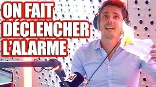 Guillaume Pley déclenche l'alarme incendie d'NRJ !