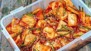Radish Kimchi Recipe of Korean (Cách làm Kim Chi Củ Cải chuẩn vị Hàn)