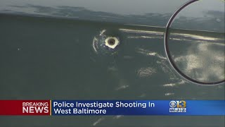 Police Investigate Shooting In West Baltimore