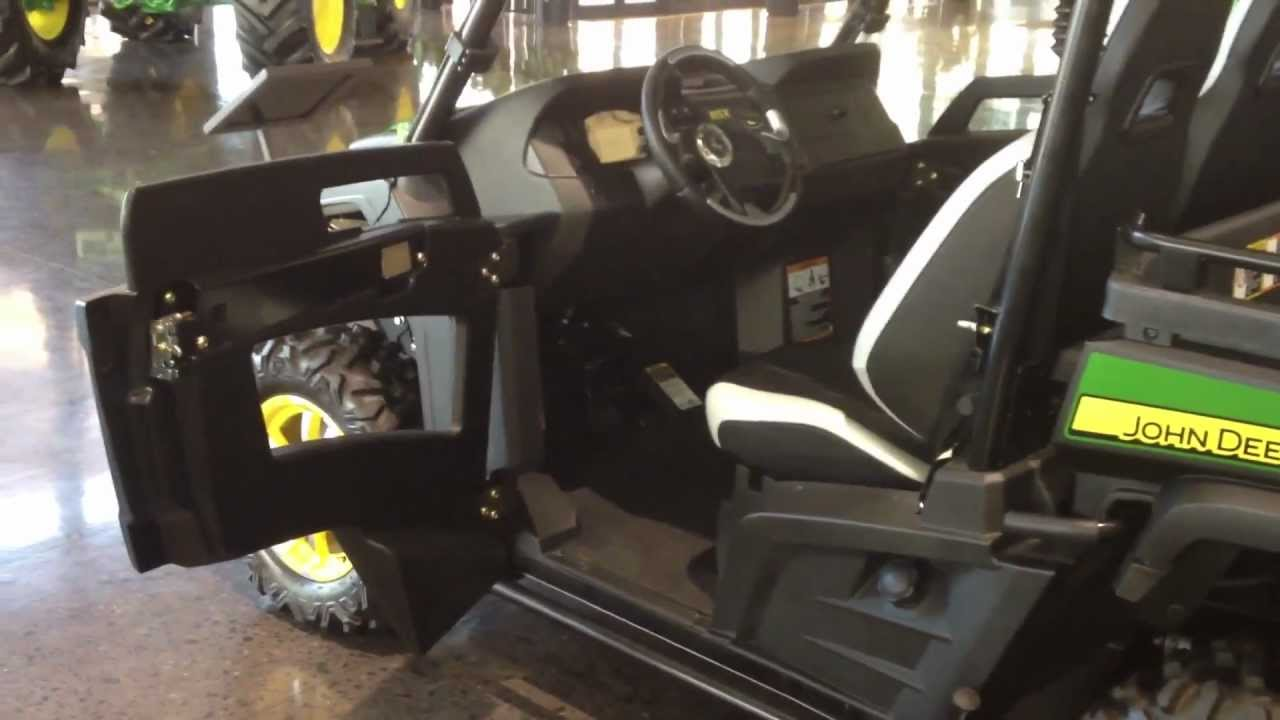 Deere Gator RSX 850i Serial Number 1 - YouTube