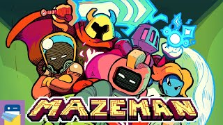 MAZEMAN: iOS/Android Gameplay Walkthrough Part 1 (by Crescent Moon Games)