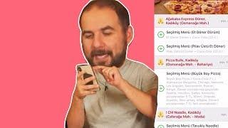 20 TL ile Kemal'e En Seveceği Yemeği Yemeksepeti'nden Kim Sipariş Edecek?