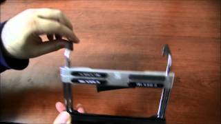 Fitrail: Exercise Bike / Treadmill Mount For Nexus 7 & Ipad