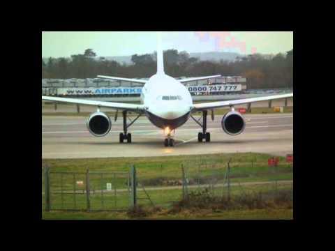 Gatwick Airport - Belavia, Monarch & BA - 07/02/11