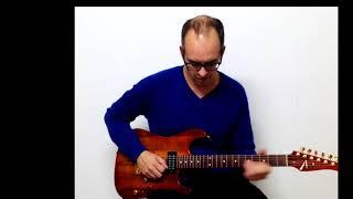 Joe Satriani Cherry blossoms guitar cover