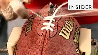 How NFL Footballs Are Made