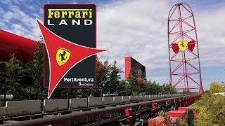 Ferrari Land | PortAventura Vlog May 2019