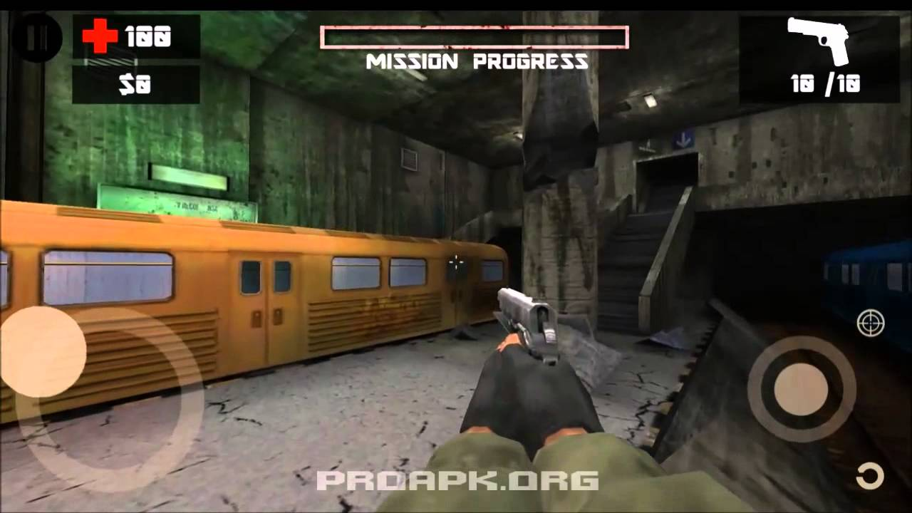 [HD] Zombie Shooter 2 Gameplay (Android) | ProAPK