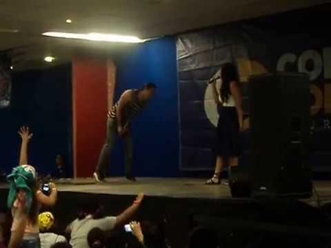 Jessica Ángeles y Tommy Rojas ConComics Acapulco