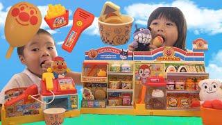 アンパンマン コンビニDX お買い物 おもちゃ こうくんねみちゃん Anpanman Convenience store Toy