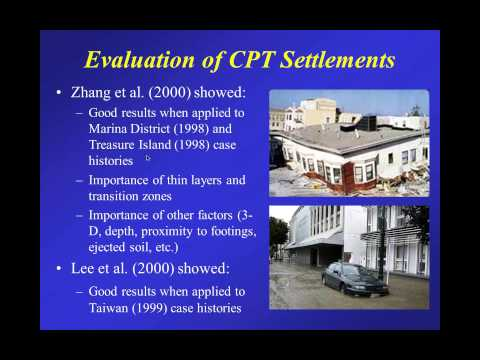 Webinar #7: CPT for Soil Liquefaction (Part 1) by Dr. Robertson May 29, 2013