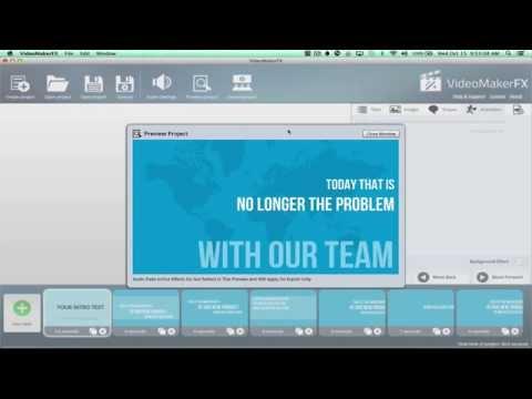 VideoMakerFX Training Business Videos