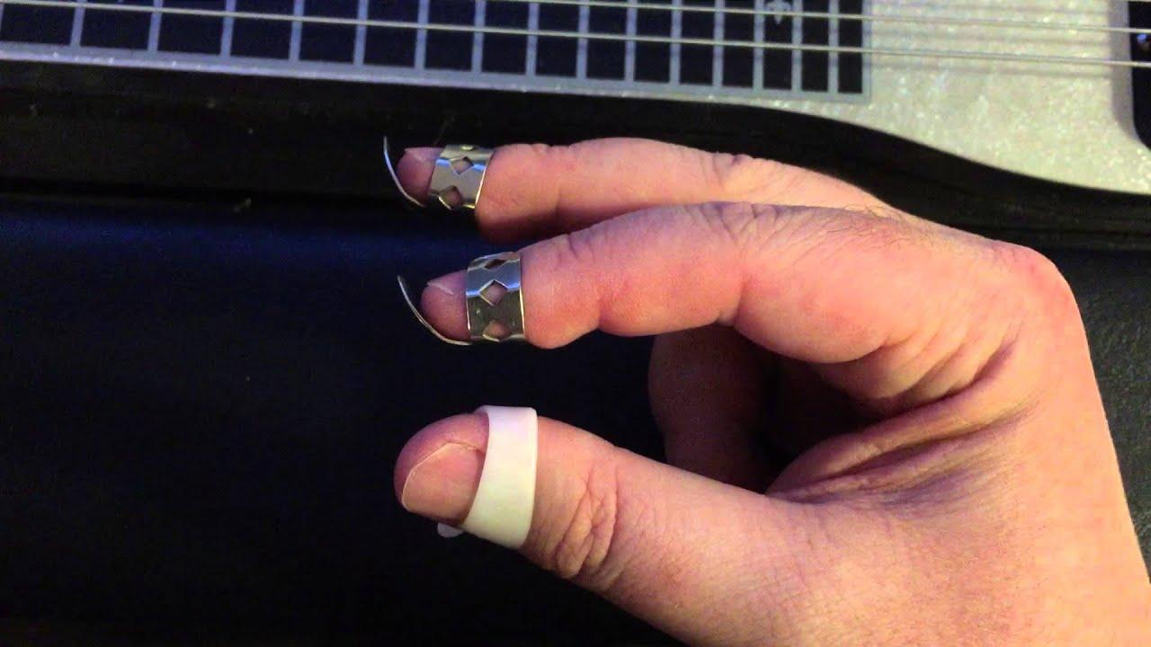 guitar finger and thumb picks