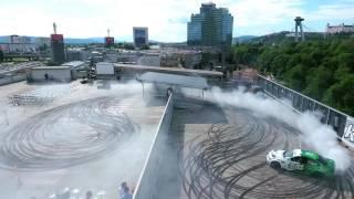 KissTheWall [ Aupark roof in Bratislava 2016 ]