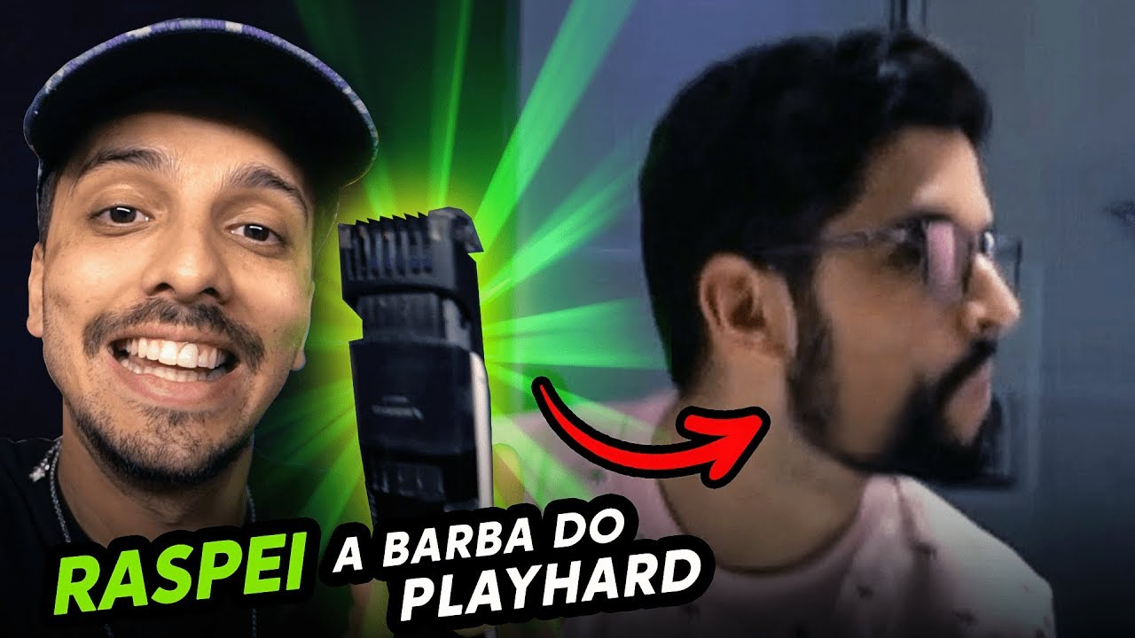 PLAYHARD SEM BARBA - TROLAGEM DO ANO !!!