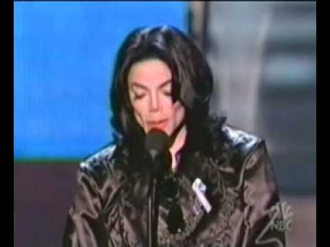 Michael Jackson's Speech At Radio Music Awards (2003)