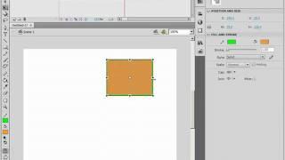 Превращение графики в Adobe Flash CS4 (37/46)