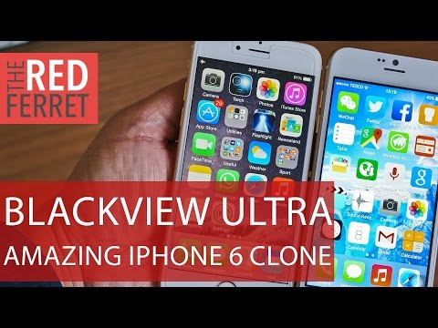 Blackview Ultra A6 - Lost Your iPhone 6? This Cool $100 Android Clone Is The Perfect Replacement
