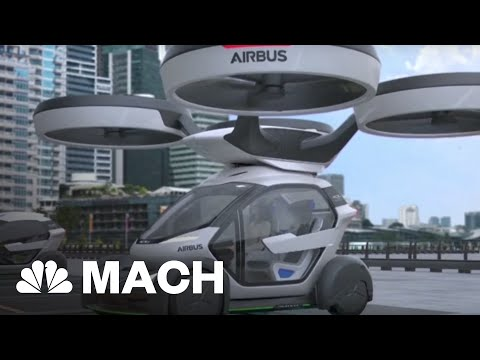 Avoid Gridlock With This Self-Driving Car Drone Hybrid | Mach | NBC News
