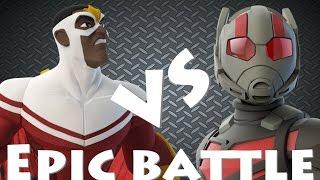 DISNEY INFINITY 3.0 EPIC BATTLES  ANT MAN VS FALCON  MARVEL CIVIL WAR