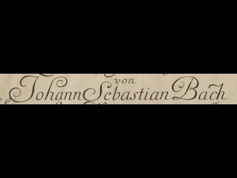 J S Bach: Partita in C Minor BWV 826. Robert Hill, harpsichord (live 2014)