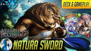 The Lion King's Might (Natura Sword) | Rotation | Deck + Gameplay 【Shadowverse】
