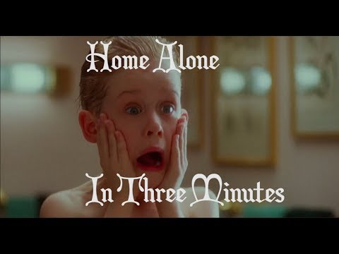 Home Alone in 3 minutes, Sung to the Music from Home Alone