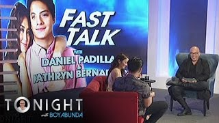 TWBA: Fast Talk with KathNiel