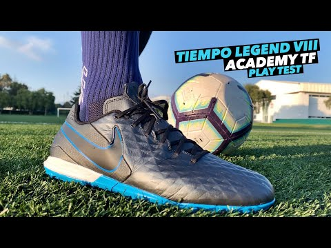 NIKE TIEMPO LEGEND VIII ACADEMY TF | REVIEW & PLAY TEST