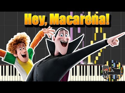 🎵 Hey, Macarena! - Hotel Transylvania 3 [Piano Tutorial] (Synthesia) HD Cover