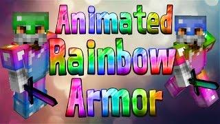 ★ Animated Rainbow Armour - 1.9 / 1.10 / 1.11 - Minecraft Animated Texture Pack / ResourcePack