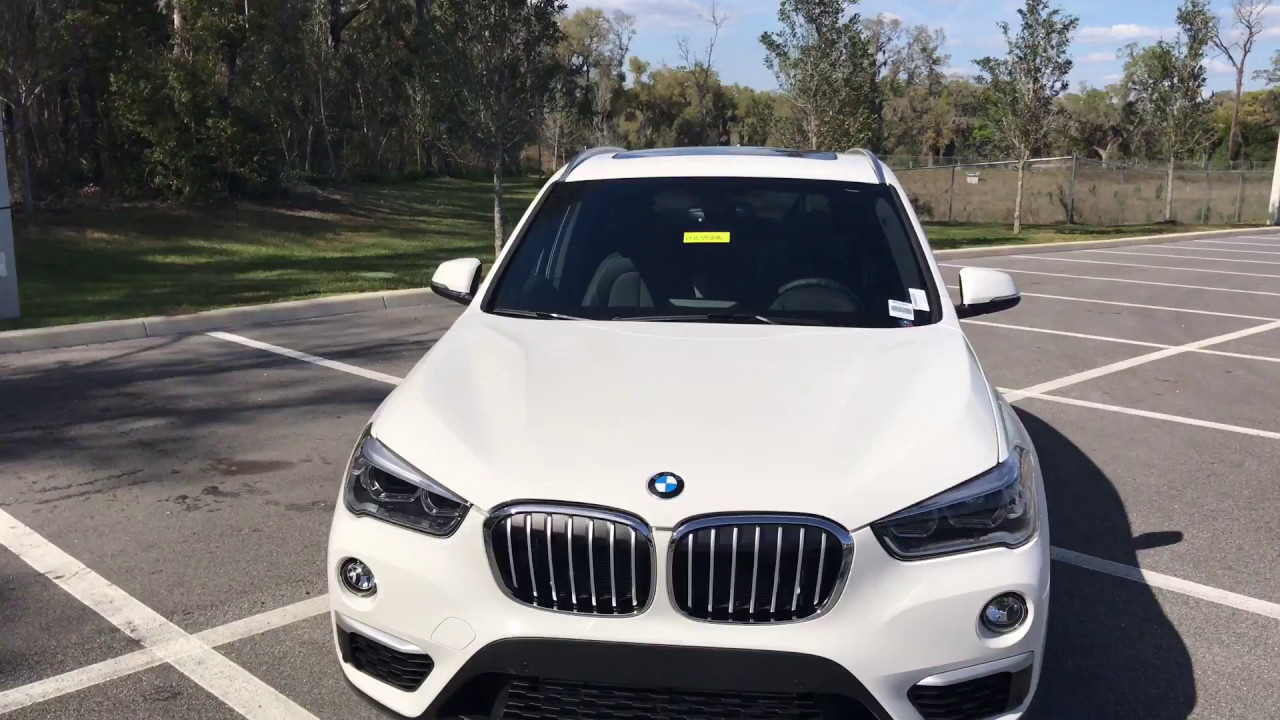 2017 BMW X1 Sdrive 28i Review Alpine White Of Ocala