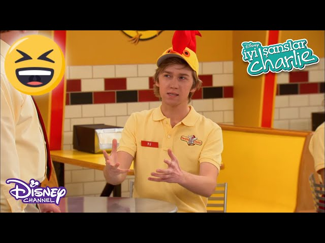 😀Bay Çabuk Tavuk🐔 | İyi Şanslar Charlie | Disney Channel TR