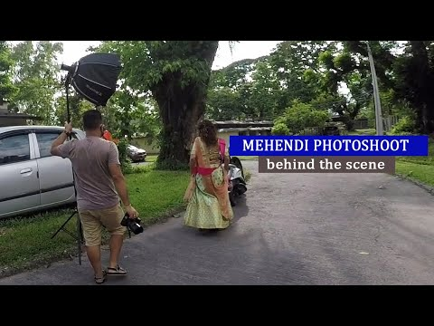 mehendi-photoshoot-|-dr.-sujata-tiwari-|-behind-the-scene