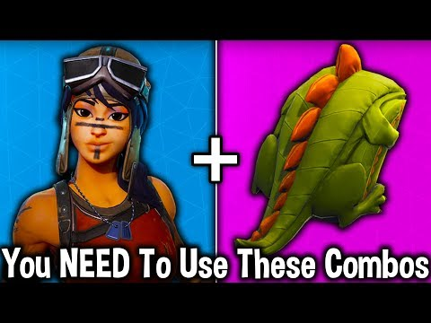 10 BEST SKIN COMBOS YOU NEED TO GET in Fortnite! (use these cosmetic combinations)