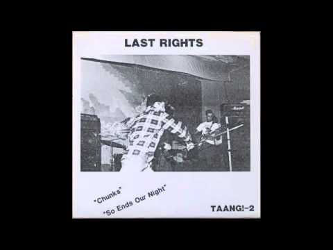 Last Rights - So Ends Our Night