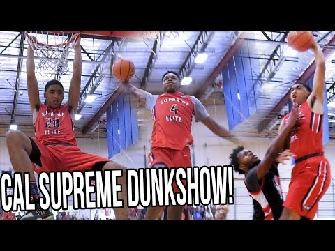 Kenyon Martin Jr. & Cal Supreme Put On DUNK-SHOW in Easy AAU Win! FULL HIGHLIGHTS