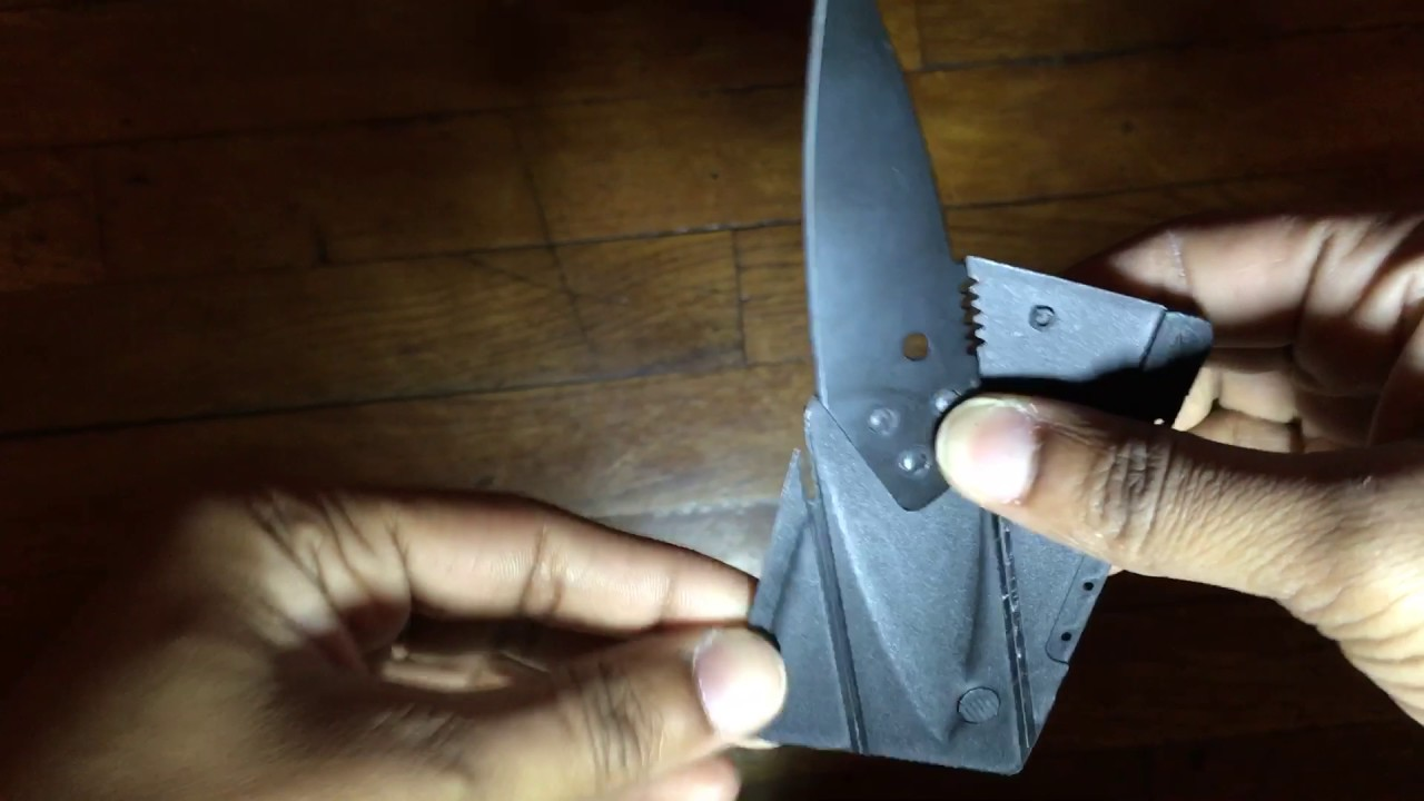 Pacific, saturdays from 8 a.m. Instablade Credit Card Knife Review - YouTube