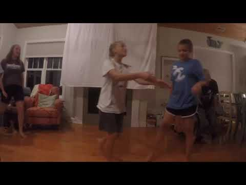 Garner YW Girls Camp: dancing dancing