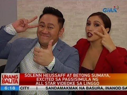 UB: Solenn Heusaff at Betong Sumaya, excited sa pagsisimula ng All Star Videoke sa Linggo