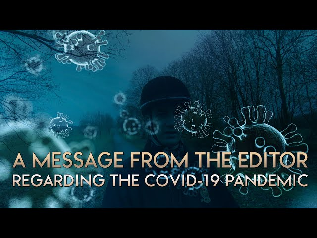 A message regarding the Covid-19 pandemic