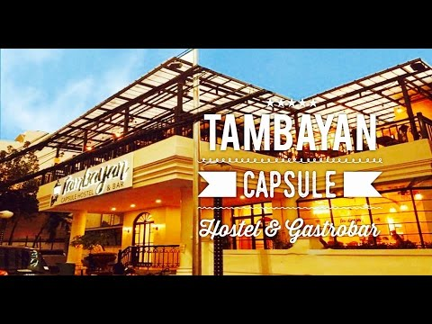 Tambayan Capsule Hostel and Gastrobar Tour Overview Malate Manila by HourPhilippines.com
