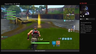 Fortnite Gameplay [*New Skin with Glider*] [Twitch Account] ***100 Sub Grind***