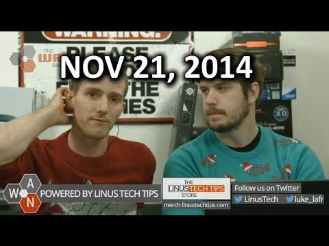 The WAN Show - 5K monitors, VACancy, Free Gigabit Wifi in NYC - November 21, 2014